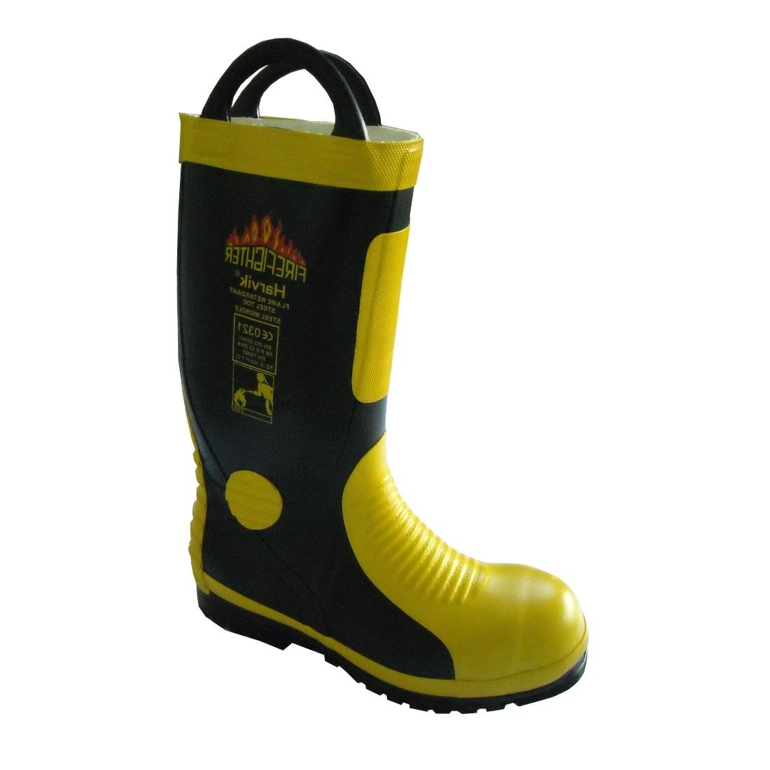 e01c1cca4a0 HARVIK Fire Fighting Boots - Safetyware Sdn Bhd
