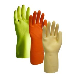 Liquid-Proof / Chemical Resistant Gloves - Natural Rubber