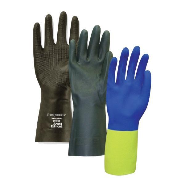 Liquid-Proof / Chemical Resistant Gloves - Neoprene