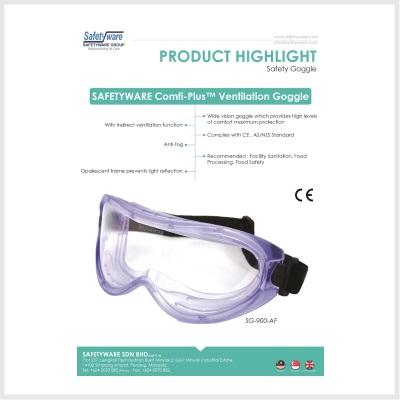 Product Highlight - Safety Goggle 2017