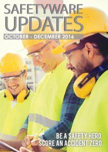 Safetyware Update Oct-Dec 2016