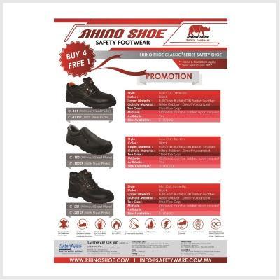 Rhino Shoe Promotion 2017