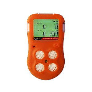 portable 4 gases detector