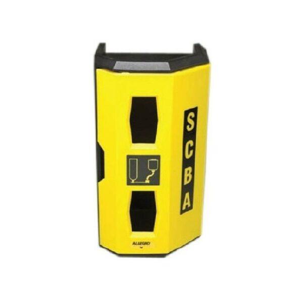 ALLEGRO HI-VIZ HEAVY DUTY SINGLE SCBA WALL CASE - Safetyware