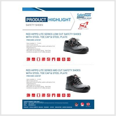 Product Highlight - REDHIPPO Safety Shoes